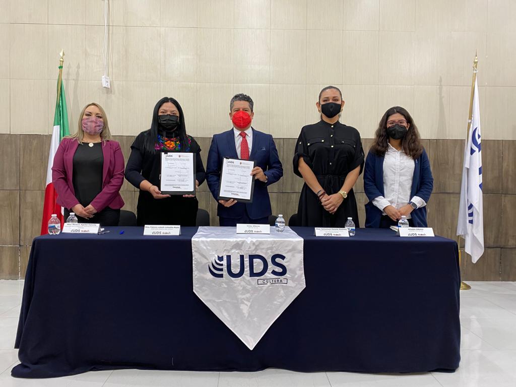 ICATECH Y UDS FIRMAN CONVENIO DE COLABORACIÓN INTERINSTITUCIONAL
