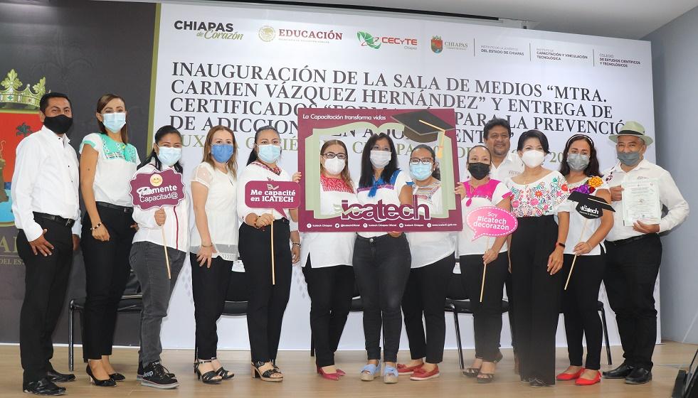 Icatech y Cecyte Chiapas aliados en beneficio de la juventud chiapaneca